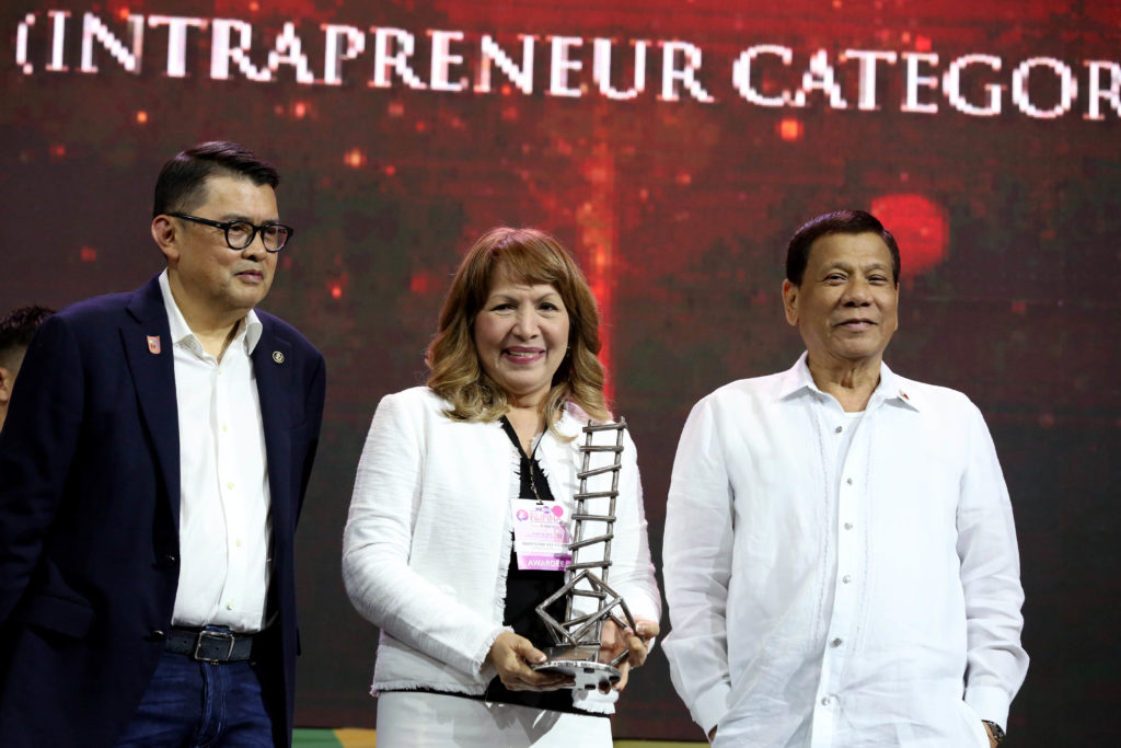 Ace Itchon - Entrepreneurs Award