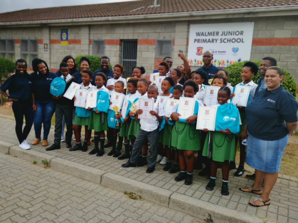 Celebrating Top Achievers at Walmer Primary