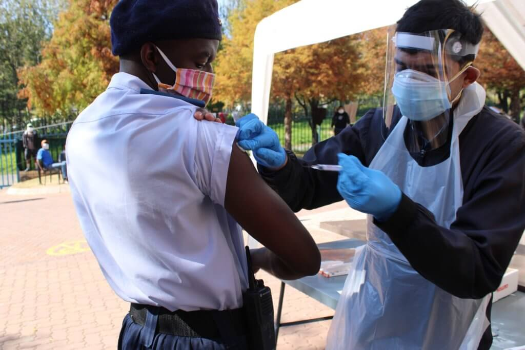 Wits Pharmacy students vaccinate homeless