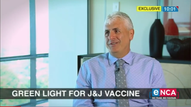eNCA EXCLUSIVE:  eNCA's Sally Burdett and Stephen Saad unpack Aspen's COVID vaccine production in SA - 1/3