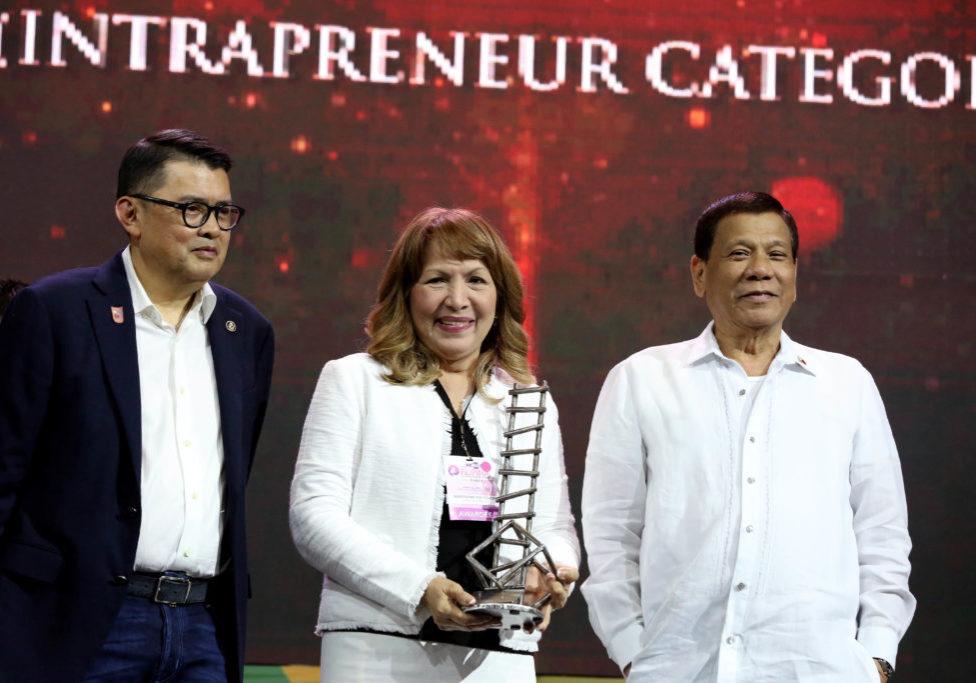 Ace Itchon - Entrepreneurs Award